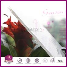 3mm 4mm 6mm 8mm 10mm 10 years warranty 2 Layers uv coat Polycarbonate Sheet /PC Sun Sheet /Plexglass Sheets