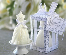 Wedding Dress Candle/Elegant Wedding Gown Candle