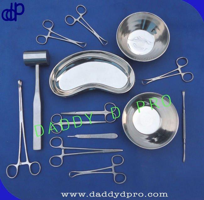 Rinoplastia conjunto instrumentos quirúrgicos