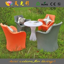 PE material plastic multicolored table and chairs furniture buy bedroom furniture online