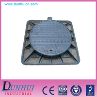 Water Meter Manhole Cover,Double Seal Ductile Iron Manhole Cover on road