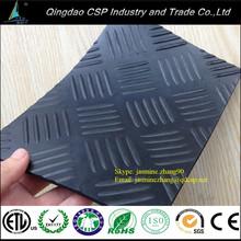 GYM non-slip shockproof rubber sheet / workshop rubber roll sheet / floor rubber sheet for boat
