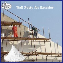 wall putty -- fine powder which provides an ideal base for concrete / cement plastered walls and ceilings