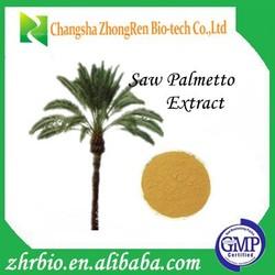 Pure Nature GMP Manufacture Saw Palmetto Extract Fatty acid 45%