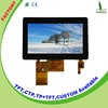 ROHS display module lcd monitor 4.3 inch with 50-pin lcd display