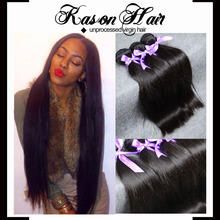 "Alibaba Kason Hair Company Straight 8'-30"" In Stock Wholesale Virgin Indian Hair, Real Indian Hair For Sale"