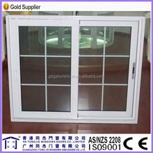 6063-T5 T Thermal breaking Aluminum Framed Double Glazed Sliding Window