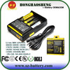 2015 Best selling nitecore d4 18650 battery LCD battery charger intelligent I2 I4 D4 D2 D4 charger Nitecore charger