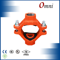 ductile cast iron pipe saddle clamp