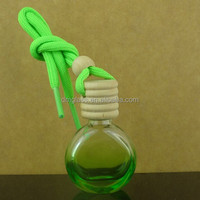 8ml Car Hanging Empty Glass Perfume Bottle Air Freshener Bottles