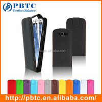 Set Screen Protector Stylus And Case For Samsung Galaxy S3 I9300 , Colorful Leather Flip Case