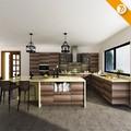 7 días de entrega inteligente para el hogar muebles de madera del producto de la cocina