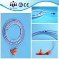 Mejor venta de sonda nasogástrica de silicona tubo de alimentación, con ce y la iso