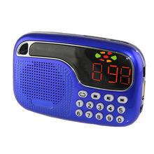 A20 China Supplier Sound Box USB Mini Speaker With FM Radio
