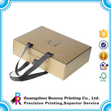 Luxury hand-held paper bag type box