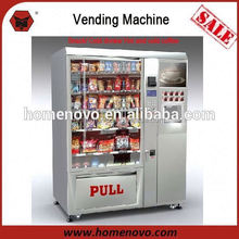 coin operated automatic drink and snack vending machine
