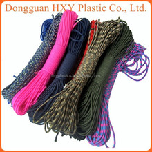New Product Fashion Jewelry Clasp Knitte adjustable velcro buckles paracord / paracord 550 for outside