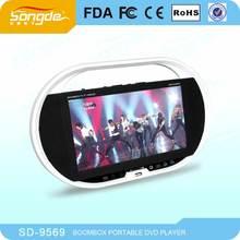 Digital Panel barato reproductor de DVD portátil productos electrónicos