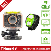 X6 WIFI 1.3 INCH SCREEN 1080FHD wifi action camcorder with 60 meters waterproof