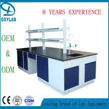 Wall bench/dental lab furniture/ school physics biology lab furniture for sale