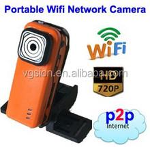 HD Sports DVR Wireless portable IP Camera/mini dv
