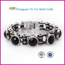 Alibaba hot selling friendship fashion stone bangle bracelet with bead