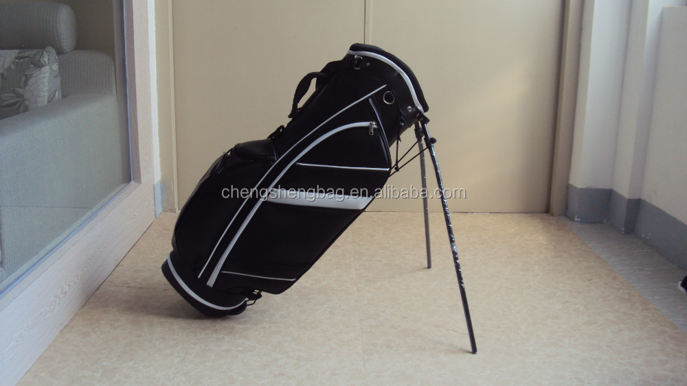 leather golf stand bags