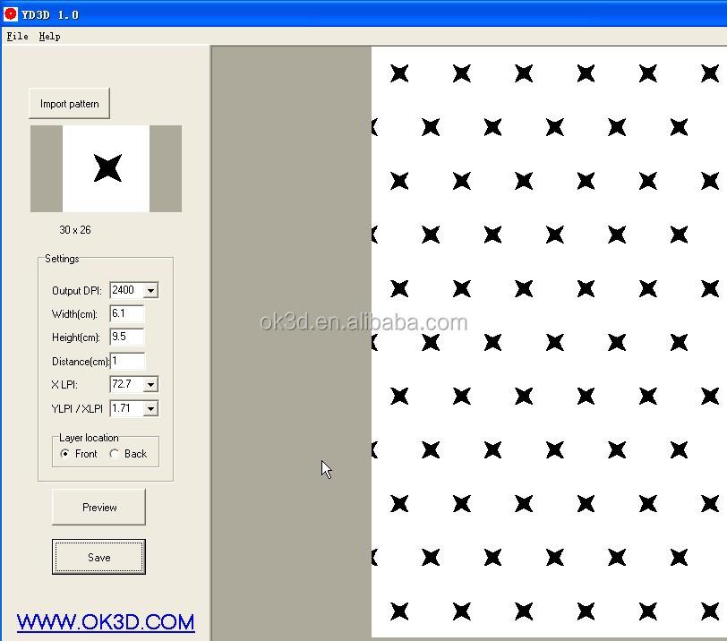 Lenticular Printing Services 2014 Popular Rapid 3d Lenticular Printing Service