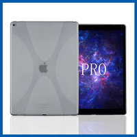 C&T Fashion design housing clear tpu gel case cover for apple ipad pro