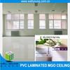 Eco-friendly fireproof 60x60 pvc ceiling