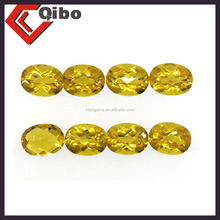 oval and face shape yellow citrine Natural Yellow Gemstone Fancy shape Loose Beads Citrine
