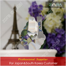 Machine cut glass ball decor curtains for Japan&South Korea