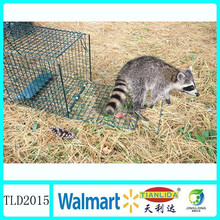 Catch and release live animal trap cage ,wild animal trap TLD2015