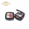 2 layer makeup palette eyeshadow and blush powder