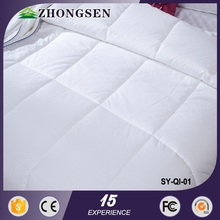 soft and comfortable filling 70% white duck down bedding children cotton house printed duvet cover set