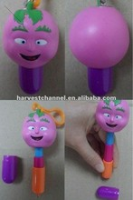 2015 novelty cartoon factory sell cupsule head ball pen