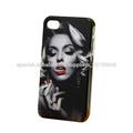 2014 al por mayor precio de fábrica para el iphone 4 venta caliente sexy Caja del teléfono celular de moda Marilyn Monroe