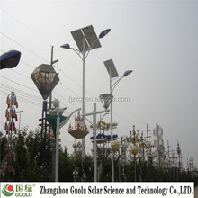 Cheap village green solar led street light ip65 with pole price list