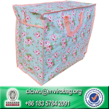Recycled Jumbo Storage Bag Laundry Bag With Handle