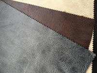 DN6001 synthetic suede fabric with fleece backing for sofa