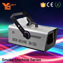 CE Certified Stage Equipment Producer Adjustable Spray Range Snow Making Machine For Sale