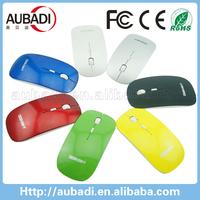 mfga custom logo slim wireless mouse for promotion gifts