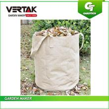 Big customers cooperation hot sale garden large volume garden hessian yard lawn and leaf bag