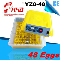 48 eggs Reasonable price with CE certificate automatic cage for quails for hatching