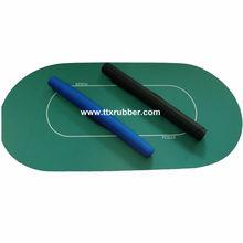 customized rubber poker mat