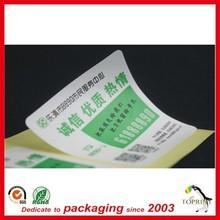 fancy price OEM/ODM elegent design adhensive label sticker printing shipping label high end quality PVC high adhensive label