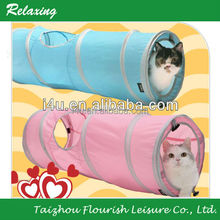 Car playing Sport Pet Tunnel polyester pop up tunnel tent for pet