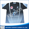 Wholesale Breathable Sports Training Shirts Custom Sublimation T Shirt