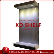 Grey Display Shelves with LED Light Box/Lock Tooling Display