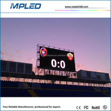 P16 outdoor led scoring board with big stock